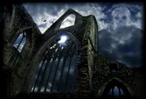 Omen over Tintern by pixini