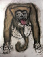 Creatures: Monkey Cat Thing by Mattox33
