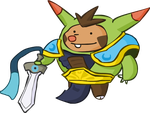 Quilladin The Might of Kalos by Kinneas64
