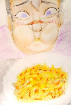 Shiro and his Macncheese by Panda-Poodle