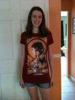 My new Her Universe Shirt by SeleneJessabelle1262