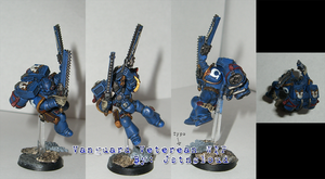 Ultramarines Vanguard Vet WIP by jstncloud