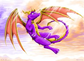 Spyro, A Hero by xXgunderXx