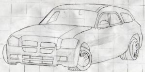 Dodge Magnum WIP by Assassin659