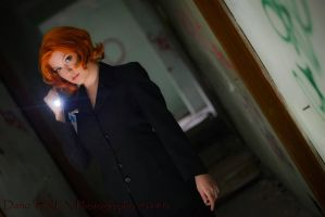 Special Agent Dana Scully MD by RikaHaruMoonbeam