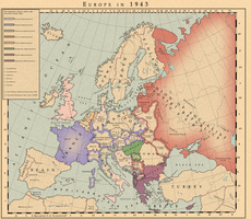 Europe at 1943 by MarcosCeia