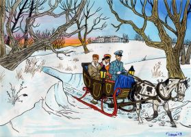 Sleigh Ride by DianaKennedy