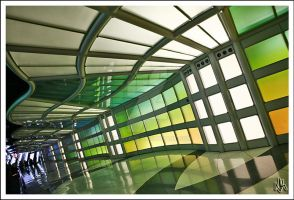 Colors of O'hare by ieatSTARS