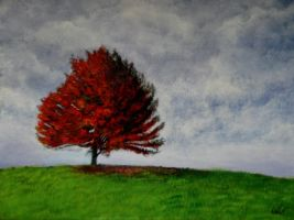 Autumn Sky acrylic on canvas by Artisan30