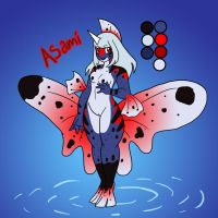 Pokemorphs-Asami the Seaking by Inkblot-Rabbit