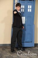 Doctor Who Photoshoot: Harold Saxon AKA THE MASTER by StrangeStuffStudios