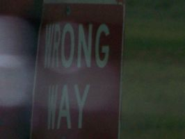 wrong way by TheCauseOf