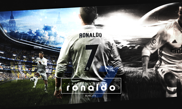 Cristiano Ronaldo | 2016/17 | Wallpaper | RMadrid. by RHGFX2