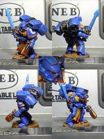 Space Marine Librarian by JaWzY83