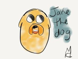 Jake the dog by TLK-SIMBA-SANDSLASH