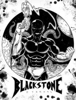 Blackstone Book 1 Cover by Robert A. Marzullo Inks by ramstudios1