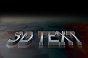 3D Text by kryptor