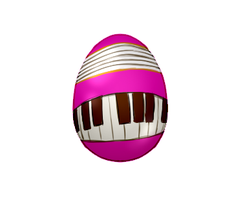 Egg Pianist by MeganEliMoon
