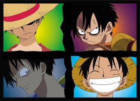 Monkey D. Luffy by SlytherinJasmine