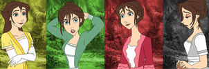 Jane Porter Color Spectrum by SelenaEde
