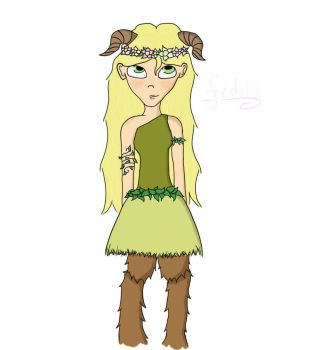 Fidela the faun by Heart-Berry