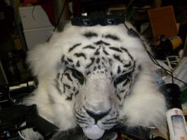 White tiger in process by Thundolis