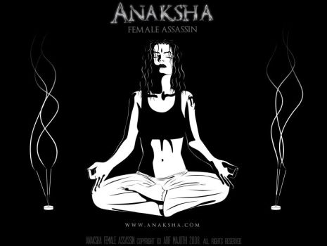 Anaksha Yoga Pose by arif-rocks