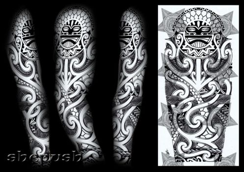 tribal celtic buddhist tattoo design favourites by dfmurcia on deviantart. Black Bedroom Furniture Sets. Home Design Ideas
