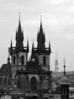 Prague's roofs IV by r3akc3