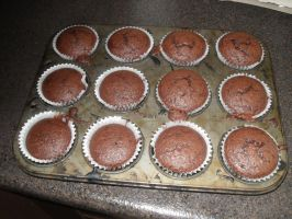 Chocolate Cupcakes by MyLoveForYouEternity