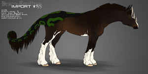 #155 Draco Equitum Design by 11IceDragon11