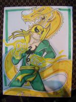 Iron Fist by Gigatoast