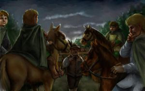 The Scouring of the Shire by TolmanCotton
