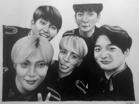#9YearsWithSHINee by Art-Ablaze