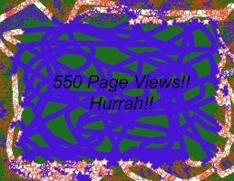 550 Page Views-Thanks by Destroyer77