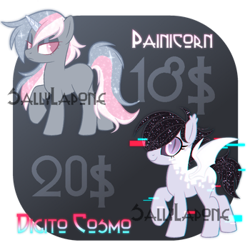 Adoptable Duo! #35 [CLOSED] by SallyLapone