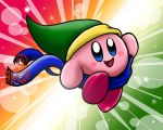Hyrule Warrior Kirby by CallistoHime