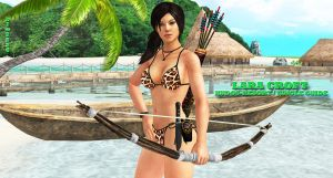 Lara Croft   KUDOS-RESORT /  JUNGLE-GUIDE by blw7920