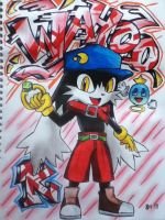 WAHOO_Red klonoa by emichaca