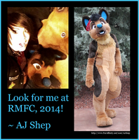Look for me at RMFC 2014 by AJ-Shep
