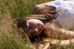 in the grass by Milesja