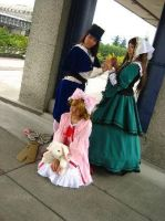Rozen Maiden: The Twins+Hina by xWish