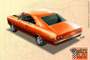 Chevy Opala SS 1975 by christiano-bill