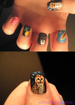 labyrinth nails by xtheungodx