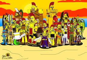 Mythical Warriors of Sparta by DragonSnake9989