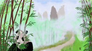 Panda Country by The-Tinidril