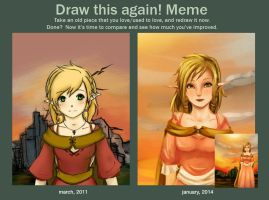 Draw This Again Meme by TheLightBulb