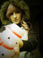 stock lightning x-mas snowman by Angiepureheart