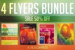 Indie Event Flyers Bundle by mkrukowski