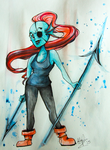 Undyne The Undying by Highwind-Valor